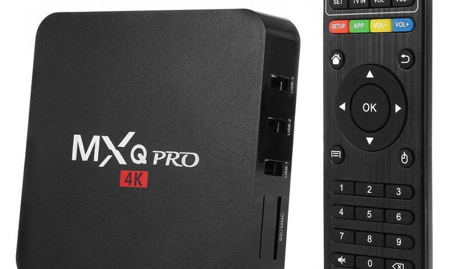 Обзор Приставки MXQ Pro 4K