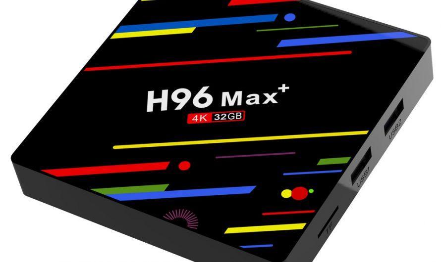 Обзор Приставки H96 MAX RK3328